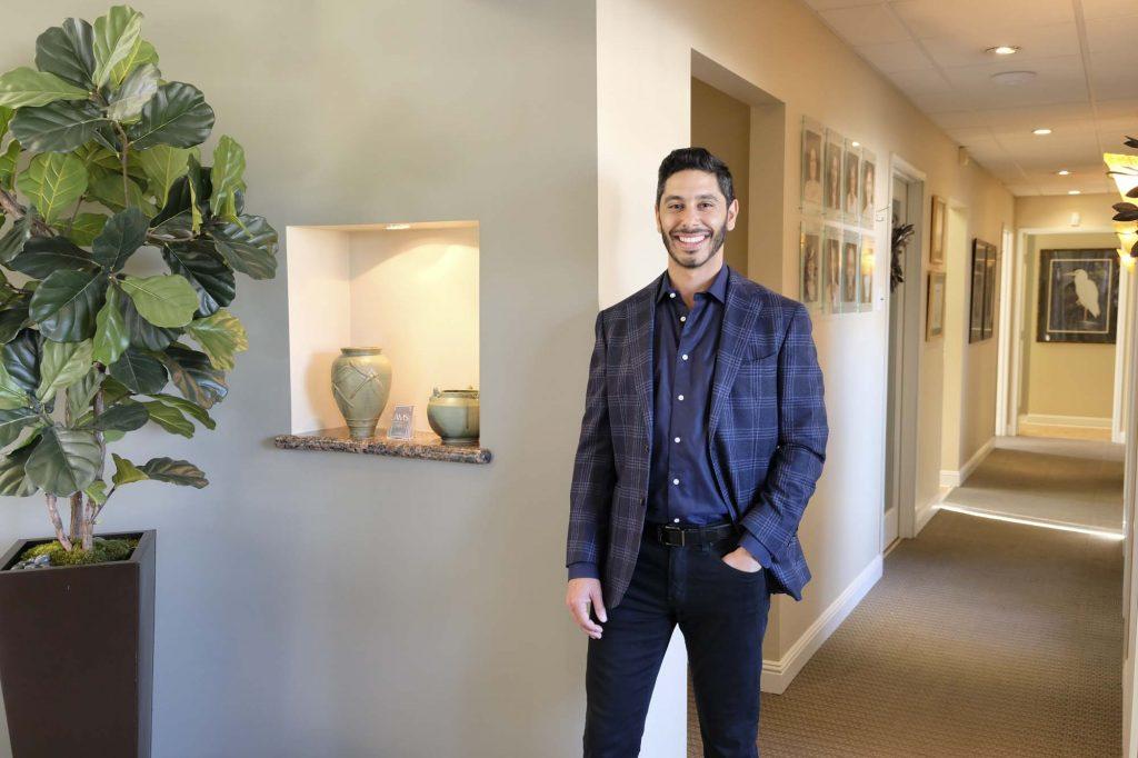 portrait of Dr. Anthony Mark Saad, a dentist at Long Beach Dental Health, a dental office in Long Beach California